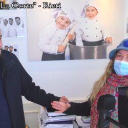 Emanuela Petroni presenta in TV la cucina di RIETI e la Corte di ELIA per incentivare il turismo