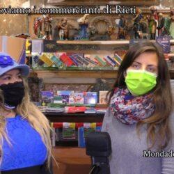 Emanuela Petroni presenta MONDADORI BOOKSTORE in TV su Canale Italia 11 per sostenere i commercianti di RIETI