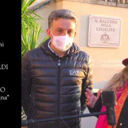 Emanuela Petroni presenta in TV su CANALE ITALIA 11 Franco Gilardi sindaco di Stimigliano (Rieti)
