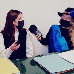 LAVINIA DE COLA - Sindaco di Montenero Sabino in TV intervistato da Emanuela Petroni su Canale Italia 11
