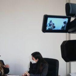 GIOVANNA PALOMBA - Assessore Servizi Sociali e Pari Opportunità del Comune di Rieti in TV intervistato da Emanuela Petroni su Canale Italia 11