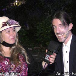 ANTONIO FAZIO presentato da EMANUELA PETRONI in TV su canale Italia 11