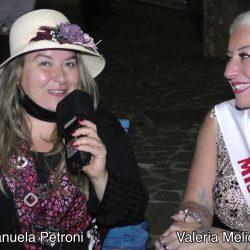 VALERIA MELIOTA presentata da EMANUELA PETRONI in TV su canale Italia 11