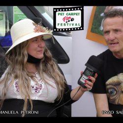 ENZO SALVI presentato da EMANUELA PETRONI in TV su canale Italia 11