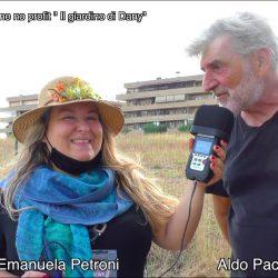 ALDO PACIFICI presentato da EMANUELA PETRONI in TV su canale Italia 11