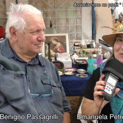 BENIGNO PASSAGRILLI presentato da EMANUELA PETRONI in TV su canale Italia 11