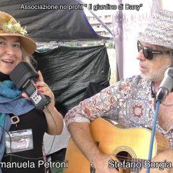 STEFANO BORGIA presentato da EMANUELA PETRONI in TV su canale Italia 11